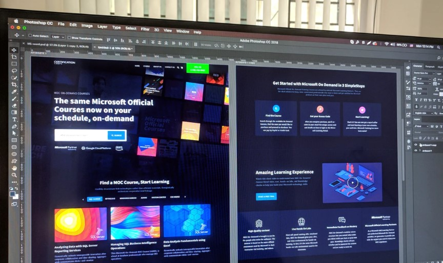 Taking The Next Step In Web Design